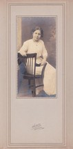 Elizabeth Rose Fernald Cabinet Photo - Lincoln Academy, Maine, 1913 Class - $17.50