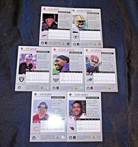 1998 Black Diamond Upper Deck Football Trading Cards ( Group of 7 ) AA20-FTC3024 image 2