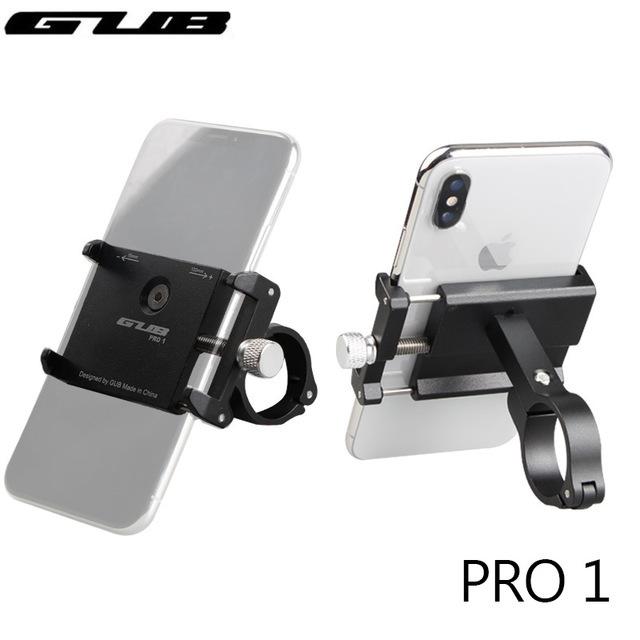 GUB Aluminum Universal Bicycle Phone Mount Holder MTB Mountain Bike Motorcycle