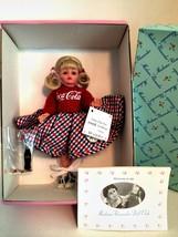 Madame Alexander Doll Coca Cola Sock Hop 10 inches Tall Mini Coke Bottle 26225 - $107.91