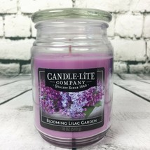 Candle-lite Blooming Lilac Garden 18 Ounce Country Comfort Jar New Made ... - $22.27