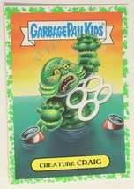 Creature Craig Garbage Pail Kids Trading Card Horror-Ible 2018 #10B - $1.67