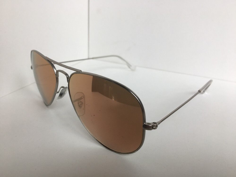 7139a2da6a9 ... Ray-Ban RB 3025 Aviator Large Metal 019 Z2 58mm Silver Sunglasses ...