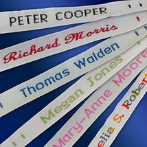 144 Woven Sew-on Name Tapes/Tags for School/Camp/Care Home - $22.94