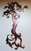 """Mermaid  Standing Tall Metal Wall Art copper/bronze  30"""" Tall - $79.99"""