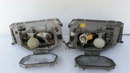 86-93 Mercedes W124 260E 300E 300D 300TE 400E Euro E-Code Headlight Lamps Set LR image 7
