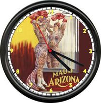 Retro Vintage Tattoo Parlor Tattooed Circus Woman Maude Arizona Sign Wal... - $21.12