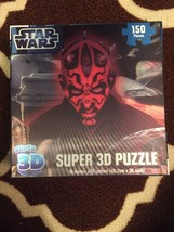 Star Wars Darth Mail Super 3D Puzzle by Cardinal (150 Pieces) *Factory S... - $14.03
