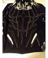 BLACK PANTHER HOODIE WITH EARS & CLAW PATTERN + COLORING BOOK - FREE SHI... - $23.36