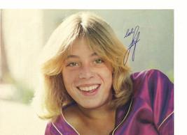 Leif Garrett teen magazine pinup clipping purple shirt close up Vintage 1970's