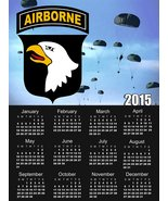 101st Airborne Calendar 101st Airborne Poster Airborne Calendar 18X24 (A... - $16.82