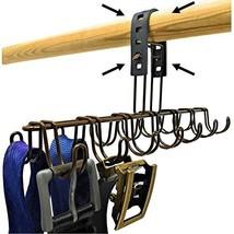 StrapGrip Belt Hanger, Scarf Holder, Tie Organizer, or Belt Rack for Closet - $22.77