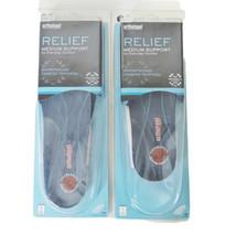 Orthaheel Relief Medium Support Full-Length Orthotic, Sm-Men 5.5-7 Women... - $52.17