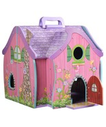 Teamson Kids Hand Carry Fairy Doll House with 7 Accessories - $89.99