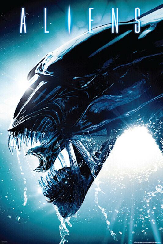 Primary image for Aliens Xenomorph 24x36 Wall Art Poster!