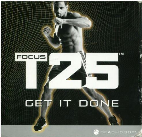 Beachbody Focus T25 Get It Done 9 DVD Set Alpha + Beta Workout Exercise (Compreh