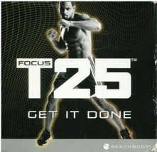 Beachbody Focus T25 Get It Done 9 DVD Set Alpha + Beta Workout Exercise ... - $29.99