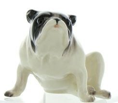 Hagen Renaker Pedigree Dog Bulldog Black and White Ceramic Figurine image 12