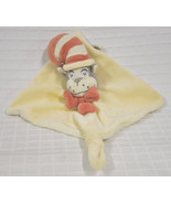 Dr SEUSS Cat IN THE Hat LOVEY By My NATURAL Knot SECURITY Blanket RATTLE... - $24.70