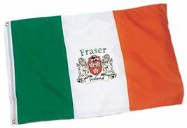 Irish Rose Gifts Fraser Heavy Duty Outdoor Ireland Coat of Arms Flag - 1... - $27.44