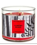 Bath & Body Works Vampire Blood 3 Wick Scented Candle 14.5 oz - $28.04