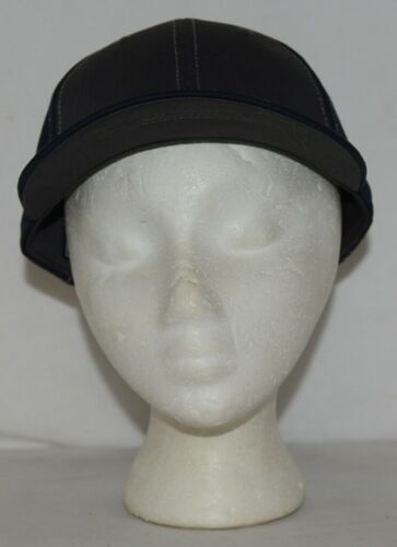 Richardson Contrast Stiching Navy Blue Charcoal Style 275 Baseball Hat Adjustabl