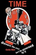 Govern the Clock by Golda Meir - Art Print - $19.99+