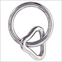 """U-3/4 X 1-1/4"""" Hilason Western Horse Tack Nickel Plated Wire Loop & Ring U--210 - $6.88+"""