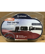 Attwood Universal Fuel Line Assembly Kit Universal Srayless Connector In... - $45.00