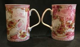 Royal Albert Old Country Roses Afternoon Tea Coffee Tea Cups Mugs Set of 2 - $24.99