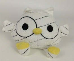 "Fiesta Halloween 7"" White and Yellow Mummy Owl Bird Plush Stuffed Toy An... - $12.82"