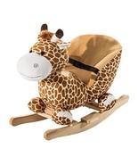 Qaba Kids Plush Rocking Horse-Style Giraffe Theme Chair - $51.03