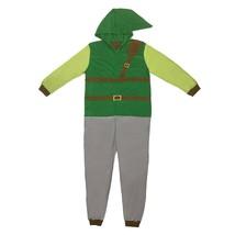 The Legend Of Zelda Men's Link Pajama Union Suit Green - $40.98