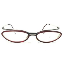 Chanel 3033 c.538 Sunglasses Eyeglasses Frames Wrap Oval Brown Gunmetal Silver  - $252.44