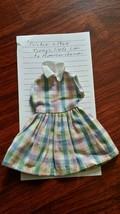Cricket School Dress Barbie's Friend C 1963 - $15.00