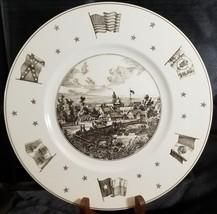 Vintage WEDGWOOD England Texas Plate San Antonio Neiman Marcus - $140.20