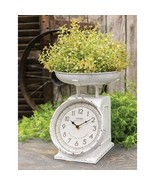 Rustic White Scale w/Clock Country Kitchen  - $59.99