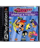 PlayStation - The Powerpuff Girls -Chemical X-Traction - $11.00