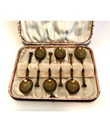 Vintage JD&S Presentation Spoon Set James Deakin & Sons Sheffield England - $28.70