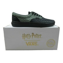 Vans X Harry Potter Slytherin Era Green Black Snake Skin Mens Size 10 - $118.75