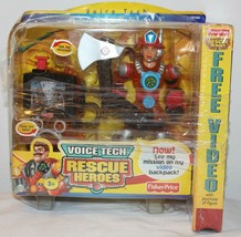 Rescue Heroes Voice Tech Wendy Waters w/ Mission Video Backpack Unused V... - $24.74