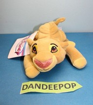 "Walt Disney Store And Parks Mini Bean Bag Simba The Lion King 8"" - $13.85"