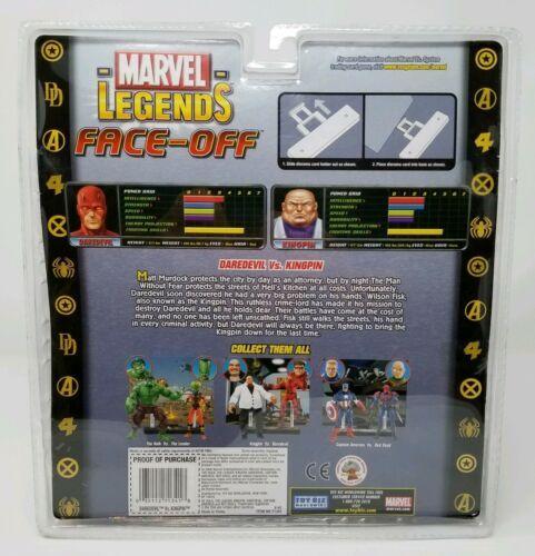 Marvel Legends Face-Off Arch-Enemies DAREDEVIL VS. KINGPIN Toy Biz NIB Comic image 2