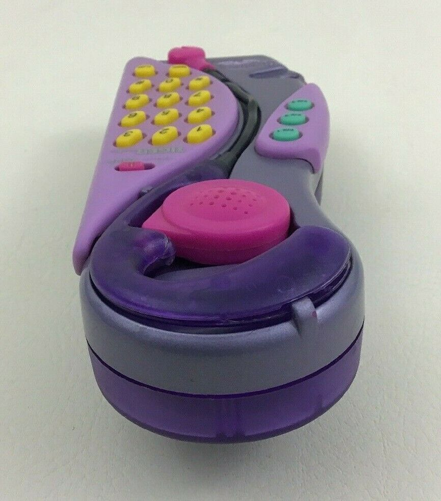Clueless Hands Free Phone Tiger Electronics Girls Vintage 1997 Earpiece 90s Toy