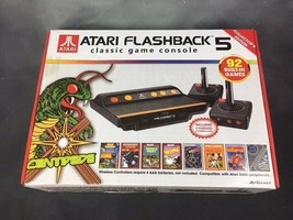 Atari Flashback 5 Classic Game Collector's Edition Black & Red Console - $24.31