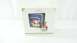 Hallmark Keepsake QXG7063 Up on the Housetop Ornament - Missing Storybook - $19.79