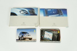 02-2005 mercedes w163 ml350 books owners manual set of 4 booklet  - $42.89