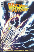 (CB-2) 2016 IDW Comic Book: Back To The Future #5 { Sub. Cover Variant } - $3.00