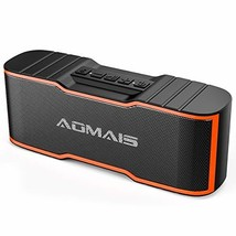 AOMAIS Sport II Mini Portable Bluetooth Speakers with 10W Superior (Orange) - $25.74