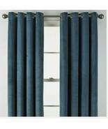 (1) Liz Claiborne JCPenney Holland Velvet Blackout Grommet Curtain 50 x ... - $45.04